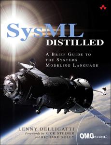 SysML Distilled La couverture du livre martien