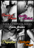 Four Series Collection: Bounds of Passion, Sexed Up Tied Down, Spectacular Stranger, The Proposition