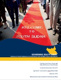 GOVERNING SOUTH SUDAN