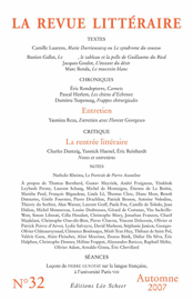 La Revue Littéraire N°32