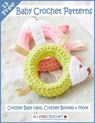 b5d8f0a651bdf  13 Free Baby Crochet Patterns  Crochet Baby Hats