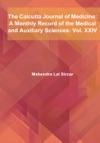 The Calcutta Journal Of Medicine Vol XXIV