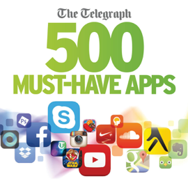 The Telegraph 500 Must-Have Apps 2014 book
