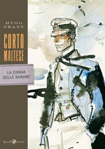 Corto Maltese - La conga delle banane Copertina del libro