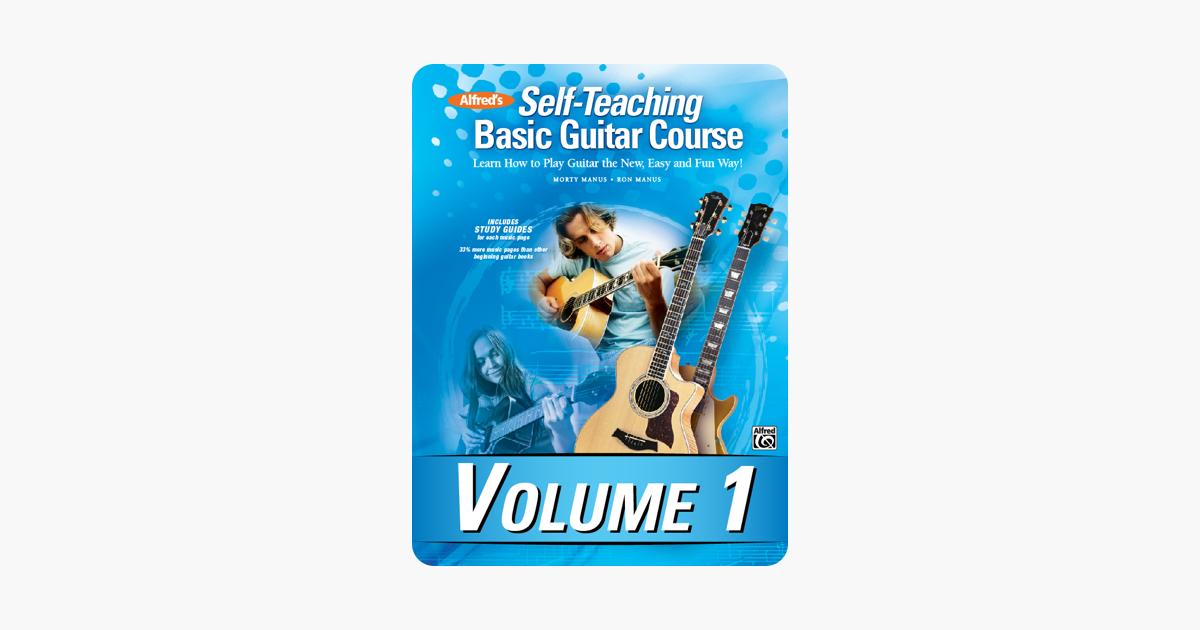 alfred 39 s self teaching basic guitar course volume 1 on apple books. Black Bedroom Furniture Sets. Home Design Ideas