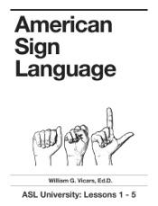 Download American Sign Language 1 - 5