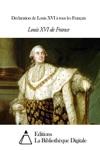 Dclaration De Louis XVI  Tous Les Franais