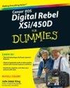 Canon EOS Digital Rebel XSi450D For Dummies