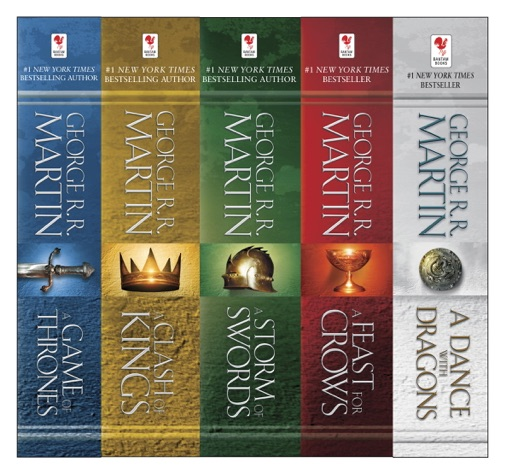 The A Song of Ice and Fire Series - George R.R. Martin