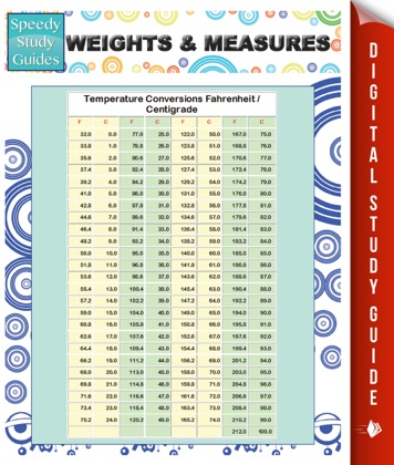 Weights & Measures (Speedy Study Guides) image