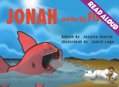 Jonah and the Big Fish - Jessica Suarez & Justin Lago book