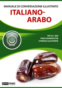 Manuale di conversazione illustrato Italiano-Arabo Book Cover
