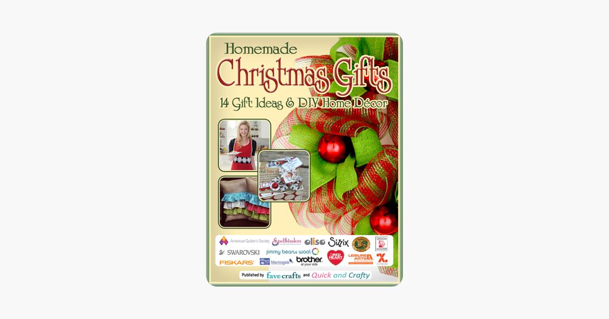 Homemade Christmas Gifts: 14 Gift Ideas & DIY Home Decor on