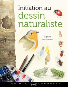 Initiation au dessin naturaliste La couverture du livre martien