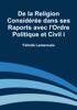 Félicité Lamennais - De la Religion Considérée dans ses Raports avec l'Ordre Politique et Civil i artwork