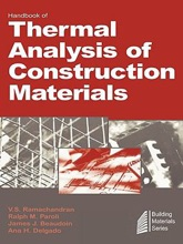 Handbook Of Thermal Analysis Of Construction Materials (Enhanced Edition)