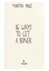 Martin Page - 16 Ways to Get a Boner ilustraciГіn