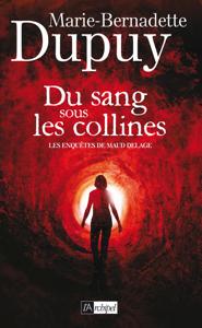 Du sang sous les collines La couverture du livre martien