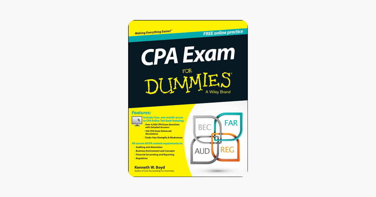 ‎CPA Exam For Dummies