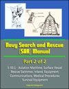 Navy Search And Rescue SAR Manual - 3-501 - Part 2 Of 2 - Aviation Maritime Surface Vessel Rescue Swimmer Inland Equipment Communications Medical Procedures Survival Equipment