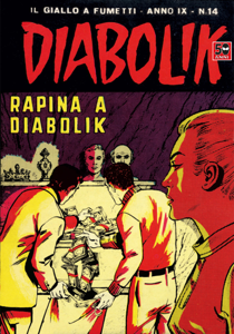 DIABOLIK (168) Copertina del libro