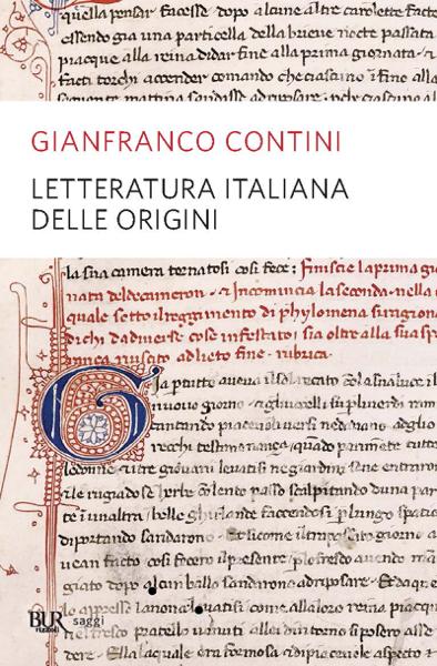 Letteratura italiana delle origini da Gianfranco Contini