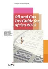 Oil & Gas Tax Guide For Africa 2013