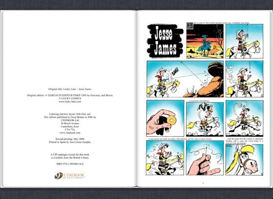 Lucky Luke - Volume 4 - Jesse James: 04