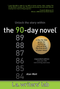 The 90-Day Novel Couverture de livre