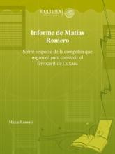 Informe De Matias Romero