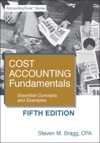 Cost Accounting Fundamentals Fifth Edition