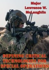 Defining Critical Technologies For Special Operations