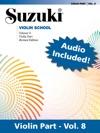 Suzuki Violin School - Volume 8 Revised