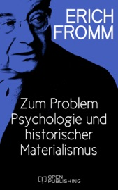 Zum Problem Psychologie und historischer Materialismus PDF Download