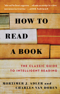 How to Read a Book Book Cover
