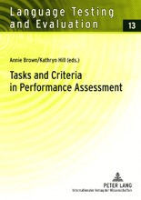 Tasks And Criteria In Performance Assessment