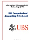 Computerised Accounting UBS Level 1