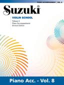 Suzuki Violin School - Volume 8 (Revised)