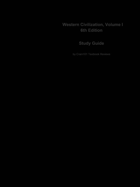 Western Civilization, Volume I