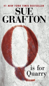 Q Is For Quarry Book Cover