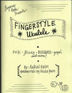 Fingerstyle Ukulele La couverture du livre martien