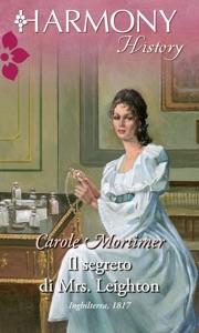 Il segreto di mrs. leighton Book Cover