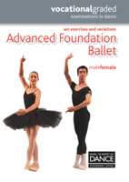 Royal Academy of Dance - Advanced Foundation Ballet artwork