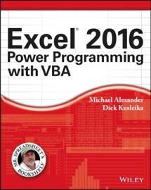 Excel 2016 Power Programming with VBA - Michael Alexander & Richard Kusleika