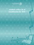 Analisis critico de la constitucion de 1836