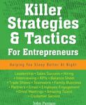 Killer Strategies & Tactics For Entrepreneurs