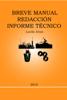 Lucila Arias - Breve Manual Redacción Informe Técnico ilustración