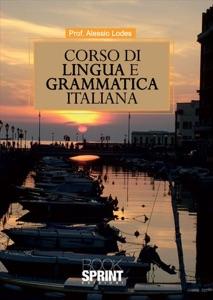 Corso di lingua e grammatica italiana Book Cover