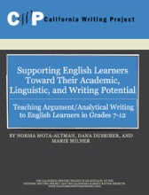 Teaching Argument/Analytical Writing to English Learners in Grades 7-12