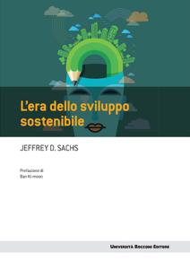 L'era dello sviluppo sostenibile Copertina del libro